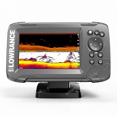 Эхолот-картплоттер Lowrance HOOK2-5 SPLITSHOT US COASTAL/ROW